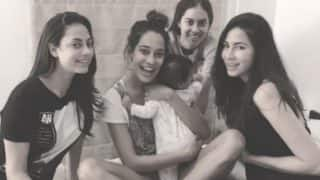 Cutie Zack Lalvani Is Surrounded By Mommy Lisa Haydon's Girl Gang! View Pic