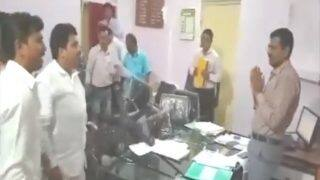 MNS Workers Vandalise Property at Agriculture Office Over Farmers' Death in Yavatmal: Watch Video