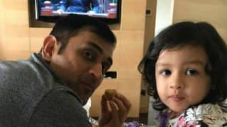 MS Dhoni Watches Bigg Boss 11 with Daughter Ziva, Interesting Moment Caught in Viral Picture