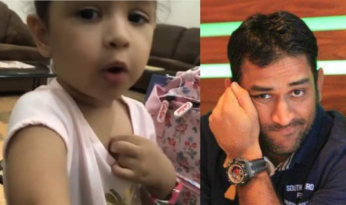 MS Dhoni's daughter Ziva sings a Malayalam song
