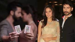 Shahid Kapoor Posts An Intense Romantic Pic With Mira Rajput