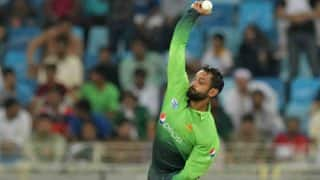 Mohammed Hafeez Called For Chucking Again, Banned From Bowling in ECB Meets