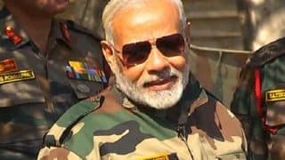 On Diwali, Narendra Modi Says OROP Scheme For Armed Forces Will Roll Out in Stages