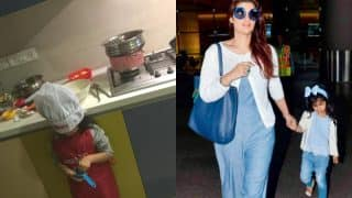 Akshay Kumar-Twinkle Khanna's Princess Nitara Is The Cutest Chef In Town – View Pic