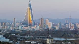 North Korea Resumes Construction of Ryugyong Hotel: Reports
