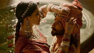 'पद्मावती' का पहला गाना Ghoomer रिलीज, कहर ढा रही है दीपिका पादुकोण