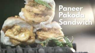 Here's a Simple Recipe to Make Paneer Pakoda Sandwich
