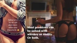 Poonam Pandey's Tweets with her Hot Pics on Nudity, Whiskey, Semen and Tits Demand Your Attention Now