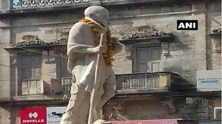 पोरबंदर में गांधी की नहीं है किसी को सुध, तीन दिनों से नदारद है बापू का चश्मा