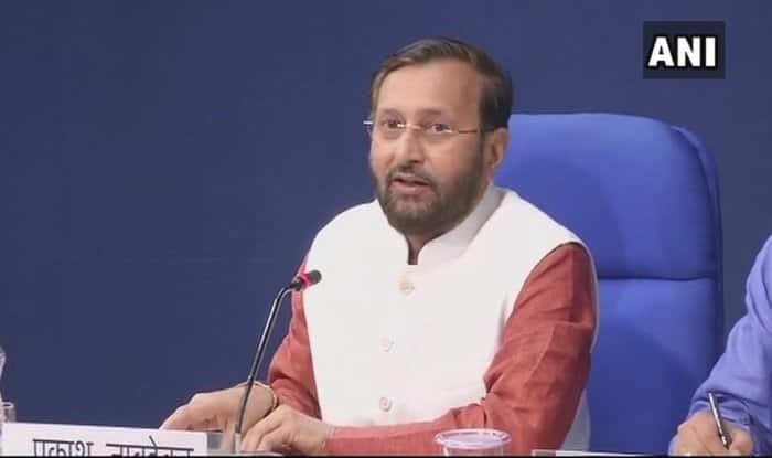 Human Resource Development Minister Prakash Javadekar