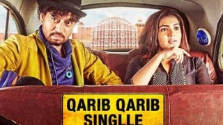 Qarib Qarib Singlle Trailer OUT: Irrfan Khan And Parvathy Take Us On An Unusual Love Trip