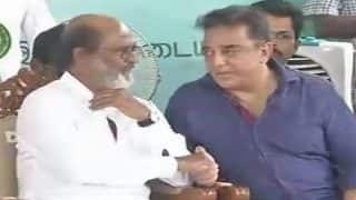 Rajinikanth Shares Dias With Kamal Haasan, Says Merely Name, Fame and Money Not Enough To Succeed In Politics