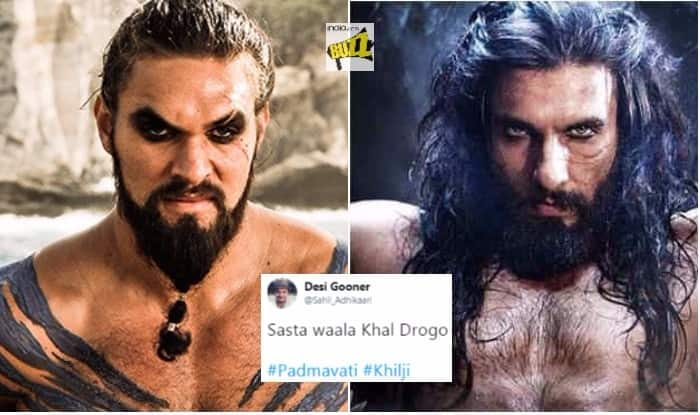 Ranveer's Look From Padmavati Is Menacing