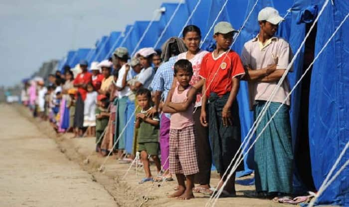 Rohingya refugees (file photo)