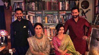 Kareena Kapoor Khan-Saif, Soha Ali Khan-Kunal Kemmu Pose For A Royal Pic But Where Are Taimur And Inaaya?
