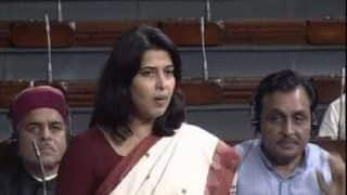 If Congress Calls Priyanka Gandhi an Ace, Then They Had Been Playing With Joker: BJP MP Saroj Pandey