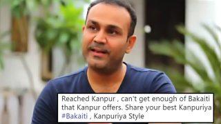 Virender Sehwag Asks For Some Kanpuriya Bakaiti, Twitter Happily Obliges
