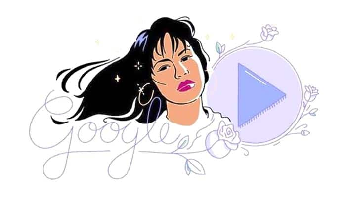 Selena, Queen of Tejano, is recognized by Google