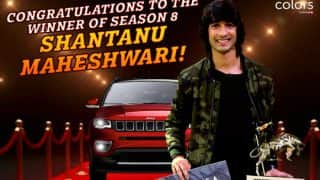 Khatron Ke Khiladi 8 Winner Shantanu Maheshwari Can't Keep Calm After Winning The Show