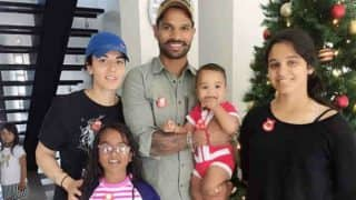 Shikhar Dhawan Surprises His Children In School, Their Reactions Are Just Adorable, Watch the video
