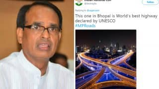 MP CM Chouhan arrives in US seeking investments for state