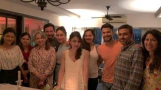 New Mommy Soha Ali Khan Celebrates Her Birthday With Kareena Kapoor Khan, Saif But where is Taimur Ali Khan?