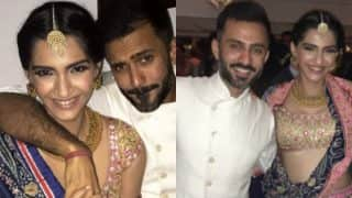 Sonam Kapoor And Anand Ahuja's Pictures From Diwali Bash Are Unmissable