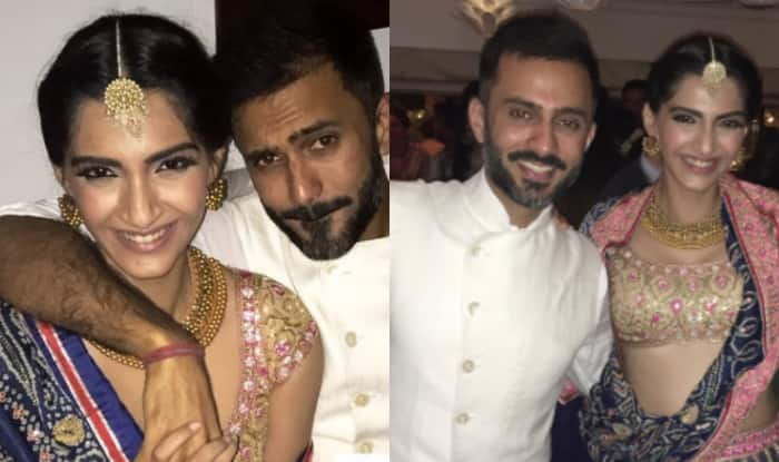 Image result for Sonam Kapoor with anand ahuja india.com