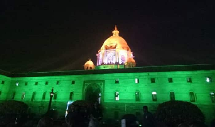 North and South Block will be lit up with new light now. [Image Courtesy PIB]