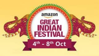 Amazon Great Indian Festival Sale 2017: Discounts on Mobile Phones, Electronics, Fashion Apparels & Exclusive Amazon Offers and Cash Backs!