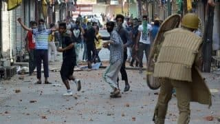 Jammu and Kashmir: Stone-pelting in Valley Reduced Post April, Claims CRPF
