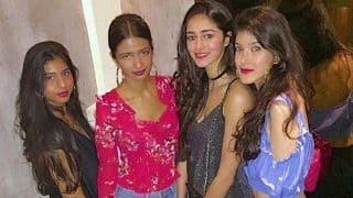 Suhana Khan, Ananya Pandey And Shanaya Kapoor Dress To Dazzle As They Are Spotted Partying- View Pic