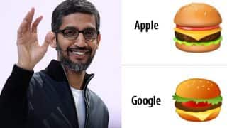 Sundar Pichai May 'Drop Everything Else' And Discuss Burger Emoji On Monday!