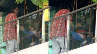Taimur Ali Khan Can't Take His Eyes Off His Dear Grandma – View Pics