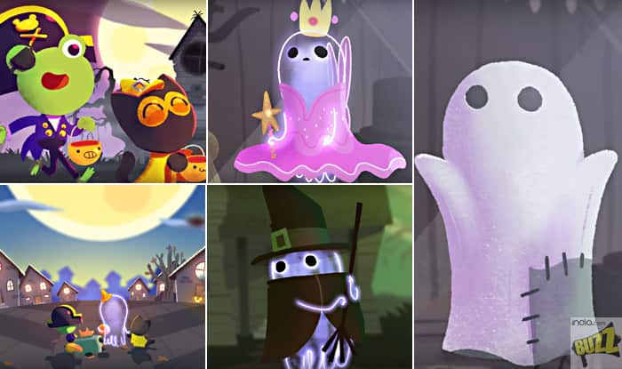 Halloween 2017: Google Doodle Introduces Adorable 'Jinx The Ghost ...