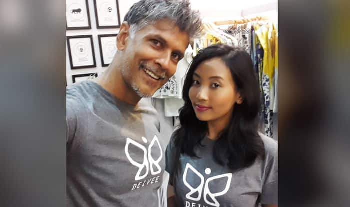 Milind Soman Girlfriend Ankita Tomar