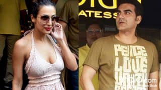 Malaika Arora And Arbaaz Khan Spotted Together Post Lunch Date (View HQ Pics)