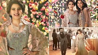 Samantha Ruth Prabhu Looks Like A Princess Straight Out Of A Fairy Tale In The Pics From Rana Daggubati's Party