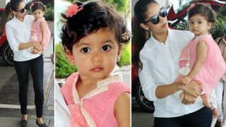 Mira Rajput And Misha Kapoor Enroute Amritsar, But Where Is Shahid Kapoor? View Pics