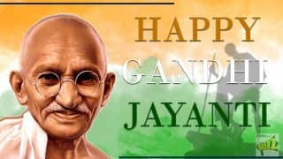 Gandhi Jayanti 2017 Wishes In Hindi: Best Whatsapp Messages, Quotes and Photos To Remember Bapu On His Birth Anniversary