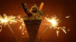 This Diwali Try India's First and Most Expensive 24-Carat Gold Flakes Ice Cream at this Place