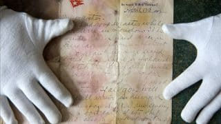 Titanic Victim's Letter Written One Day Before Disaster Is Up For Auction After 105 Years