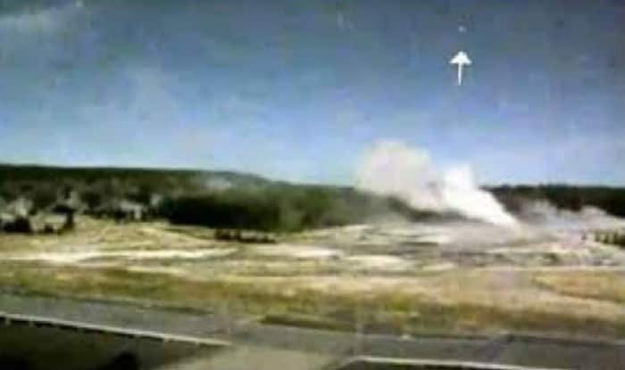 UFO Spotted Over Yellowstone Volcano: Watch Video of Alien Aircraft Caught on CCTV