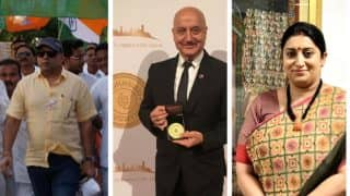 Paresh Rawal Congratulates Smriti Irani Over Anupam Kher's Appointment as FTII Chairman