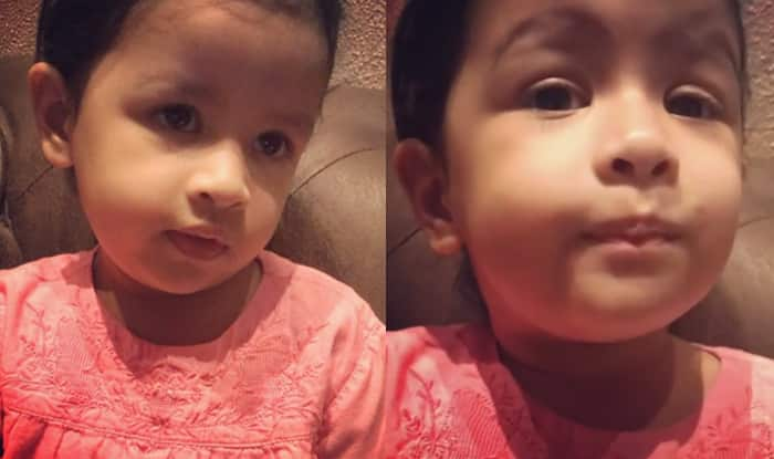 MS Dhoni's Daughter Ziva Sings Malayalam Song And The Internet Is