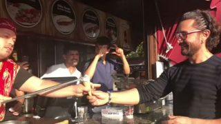Aamir Khan Loves Turkish Ice Cream: Secret Superstar Actor Amused By Turkish Ice Cream Seller's Tricks!