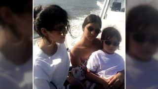 AbRam Khan Enjoys A Boat Ride With Sister Suhana Khan And It's Too Adorable To Be Missed - View Pic