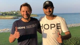 Harbhajan Singh Takes Part in 'Shahid Afridi Foundation' Event in Bahrain