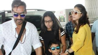 Ajay Devgn-Kajol And Kids Head To Goa For A Mini Family Vacay While The Rest Of Bollywood Celebrates Diwali - View Pics