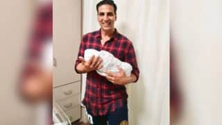 Akshay Kumar Shares The First Glimpse Of Asin and Rahul Sharma's Baby Girl - View Pic